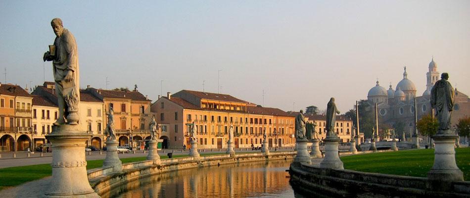 Падуя (Padova), регион Венето, Италия - достопримечательности, маршрут