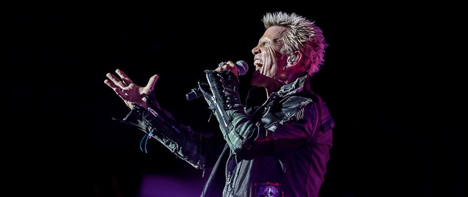 Billi Idol in concerto a Padova il 10 Giugno